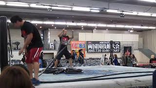大日本プロレス札幌テイセンホールラストマッチ、テキパキとリングをかたす選手たち