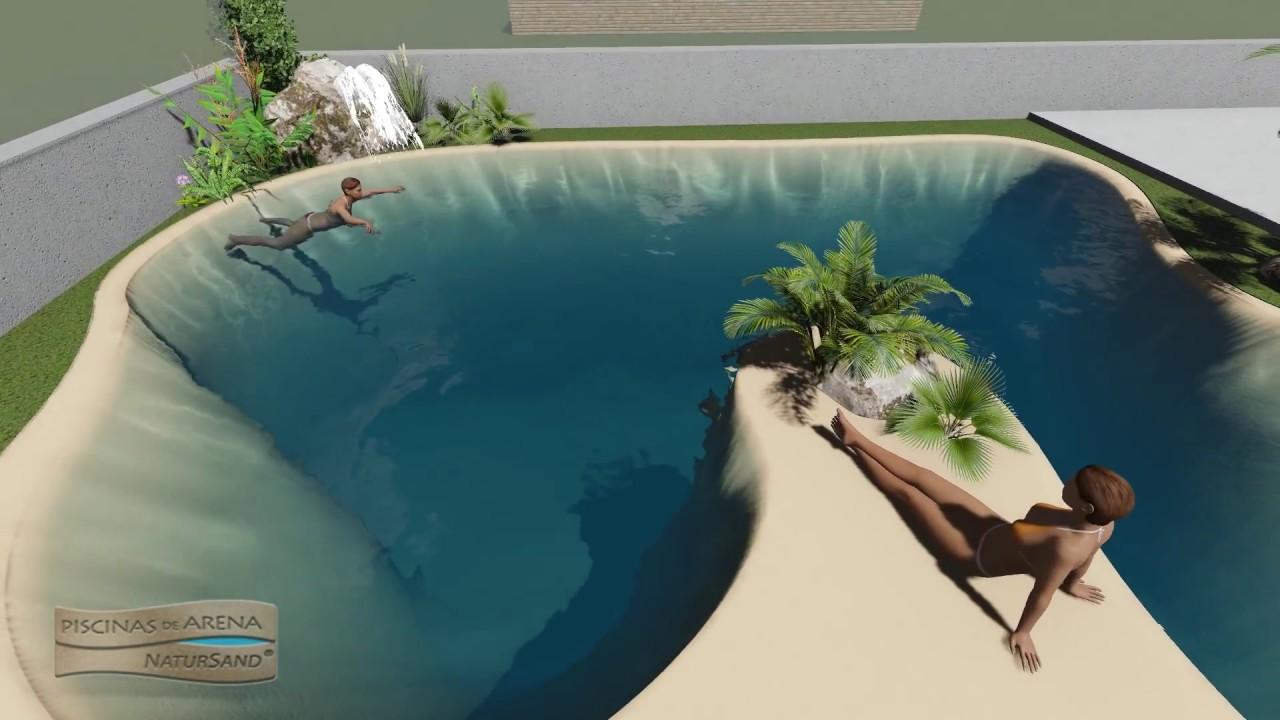 Dise o en 3 dimensiones para la construcci n de una piscina de arena comunitaria youtube - Piscinas de arena opiniones ...