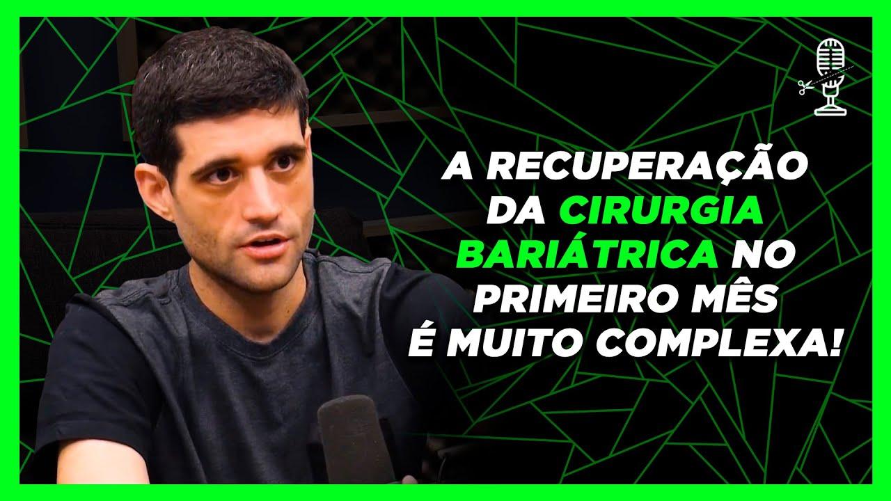 A RECUPERAÇÃO COMPLICADA DA CIRURGIA BARIÁTRICA - DAVY JONES