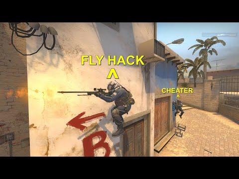 FLYING HACKER IN CSGO