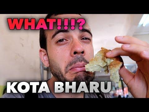 TRYING MALAY WEIRD FOOD IN KOTA BHARU MARKET