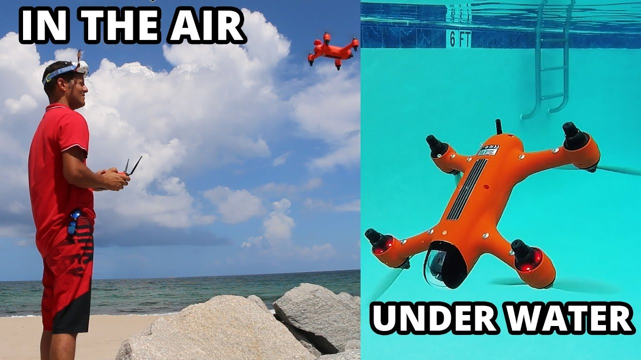 Flying or Floating, the Spry Drone Wants To Master Both the Sky and