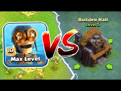 ALL MAX LEVEL BOMBERS Vs BUILDERS HALL 5!! - Clash Of Clans GEM TO MAX NEW TROOP!