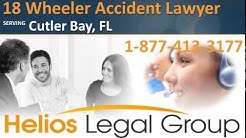 Cutler Bay 18 Wheeler Accident Lawyer & Attorney - Florida