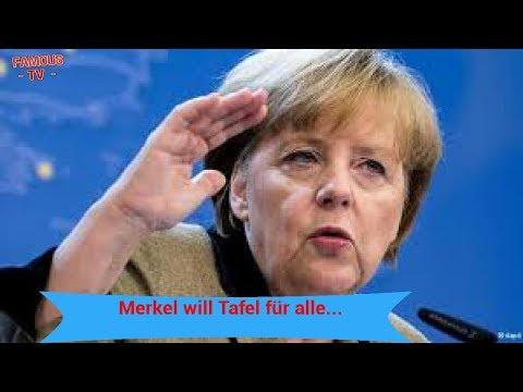 Merkel will Tafel für alle...