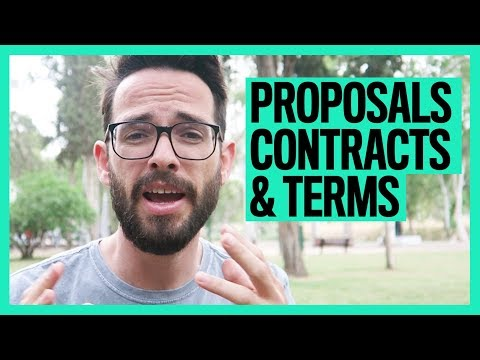 Freelance Proposals, Contracts & Terms