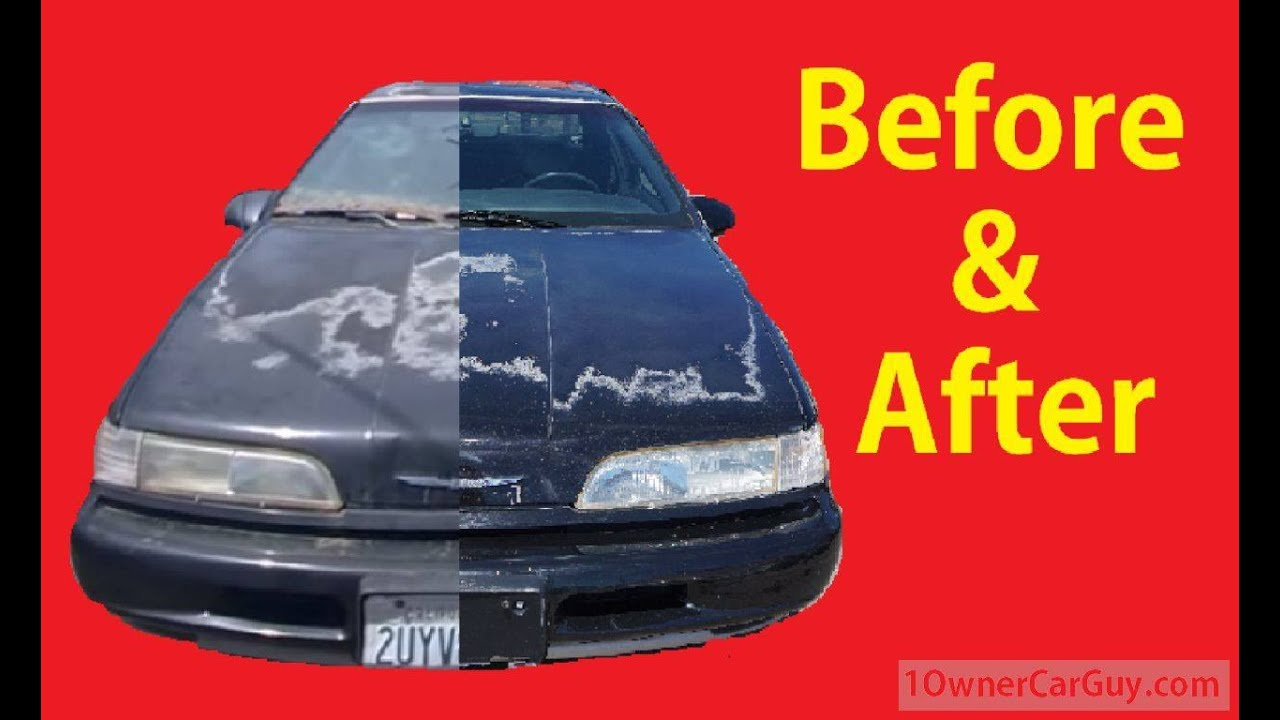 how to buff polish cars detailing diy car detail before after tips video 7 youtube. Black Bedroom Furniture Sets. Home Design Ideas