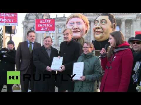 Germany: Watch super-sized Merkel waste cash on spying