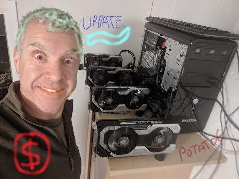 4x Gtx 1060 Eth Mining Rig Update.