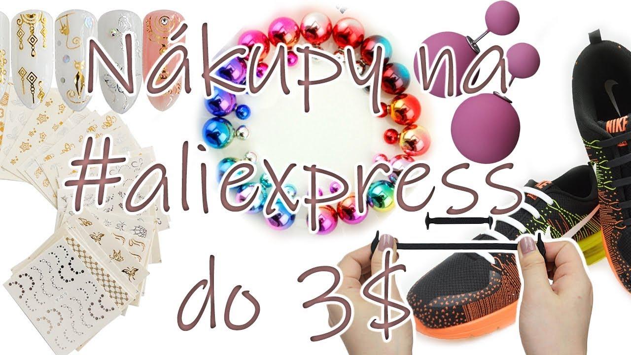 Nákupy na #aliexpress do 3 $ // UNBOXING CZ