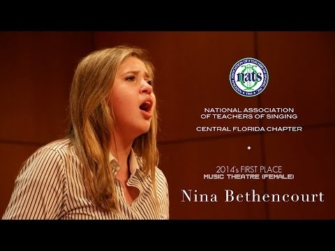 National Association of Teachers of Singing's 2014 Winner - Nina Bethencourt