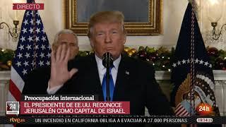 Declaración de Donald Trump sobre Jerusalén como capital d...