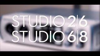 PRESONUS Studio 2|6 и Studio 6|8 звуковые USB-интерфейсы в МузТорг Украина
