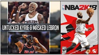 "NBA 2K18 NEW SPECIAL PLAYERS!| ""UNTUCKED JERSEY"" KYRIE IRVING, ""FACE MASK"" LEBRON JAMES & MORE!!"