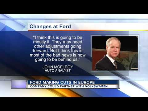 Ford making job cuts in Europe, may soon partner with Volkswagen