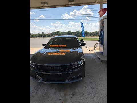 Dodge Charger R/T 2017 Insurance and Fuel cost
