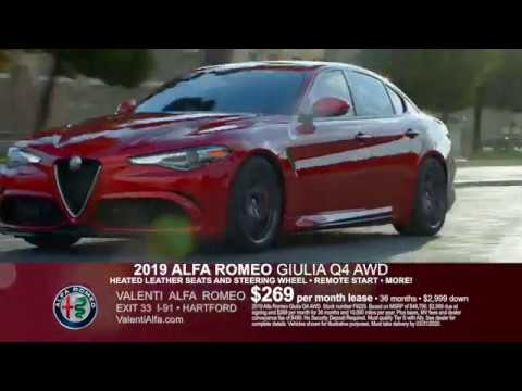 valenti alfa romeo spring acceleration sales event hartford ct youtube youtube