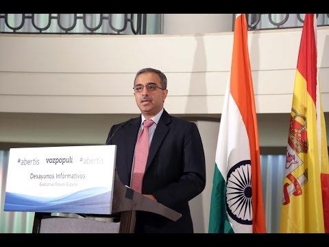 Embajador India en Executive Forum - Desayuno Informativo