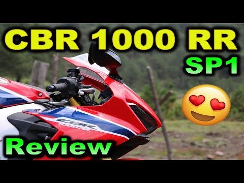 HONDA CBR 1000 RR SP1 | Review Test Ride en Español | BLITZ RIDER