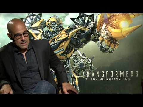 "Transformers 4: Age of Extinction: Stanley Tucci ""Joshua Joyce"""