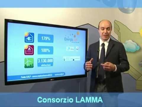 Italian renewable energy weather forecast - RAI 3