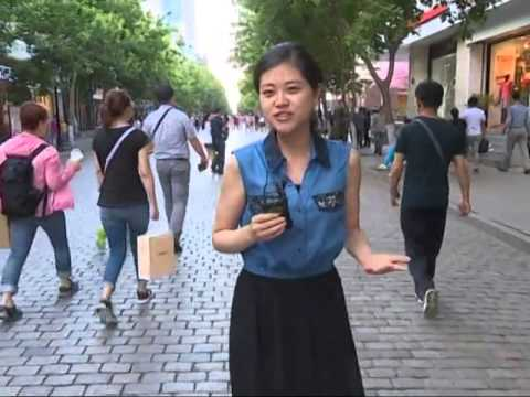 "Glamor of ""European"" street in NE China"