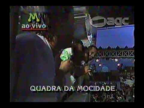 Paulinho da Mocidade desdenha o carnaval da Rede Manchete - 1990