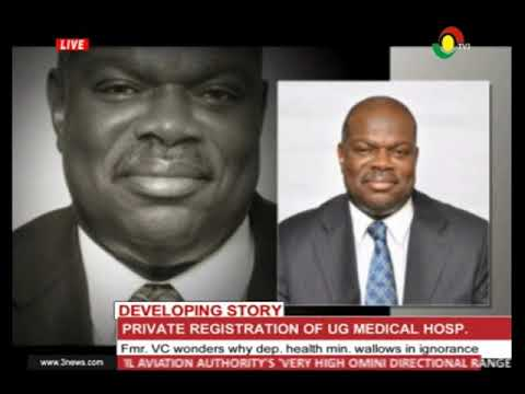 Fmr. VC of UG explains private registration of UG Medical Centre