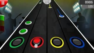 Megadeth Hangar 18 guitar flash