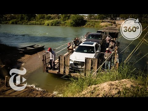 Floating Across the Mexico Border | The Daily 360 | The New York Times