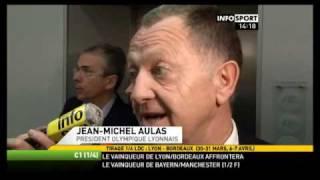 Football Tirage 1/4 : Lyon vs Bordeaux. (30-31 mars 2010)