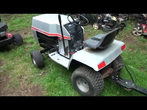 Murray Riding Lawn Mower Ignition Switch Wiring Diagram 91 240sx Headlight How To Wire A Lawnmower Where Do All Of The Wires Go