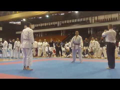 SKC England, Male Open Kumite, Curtis (SKDUN Serbia)