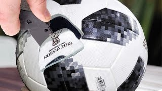 Dünya Kupası Futbol Topunun İçerisinde Ne Var?