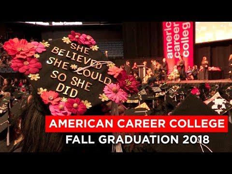Graduation Ceremony - Fall 2018   American Career College
