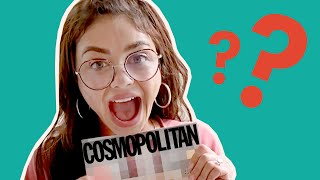 COVER REVEAL: Sarah Hyland and Wells Adams Totally Flip Out Over Her Cosmo Cover 😍| Cosmopolitan