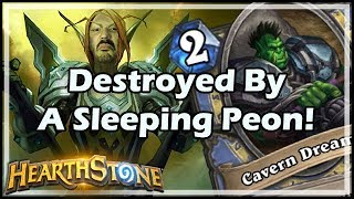 Destroyed By A Sleeping Peon! - Witchwood / Hearthstone