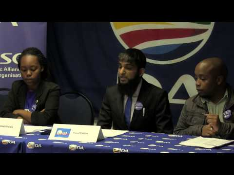 DASO PRESS CONFERENCE 02 September 2014