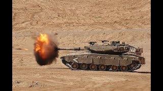 Merkava IV Vua tăng mạnh nhất thế giới của Israel đã nã pháo vào Syria ?