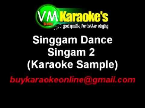 Singam Dance Karaoke Singam 2