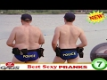 Top 10 Just For Laughs Gags 2017 - Hot Girl Exposes Hairy Chest Pranks