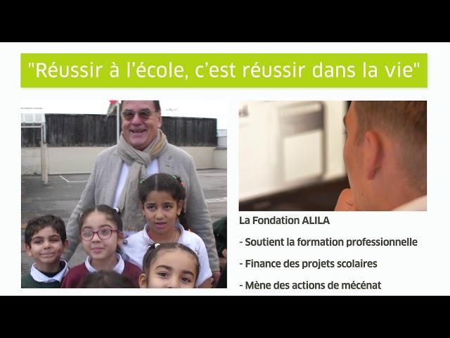 ALILA - Présentation de la Fondation ALILA