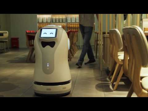 This Robot Hostess Wants to Take Your Order