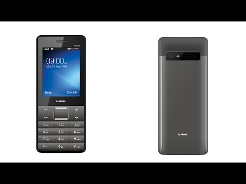 Lava Metal 24 Dual SIM Internet enabled Feature phone with metal back for  Rs  2000
