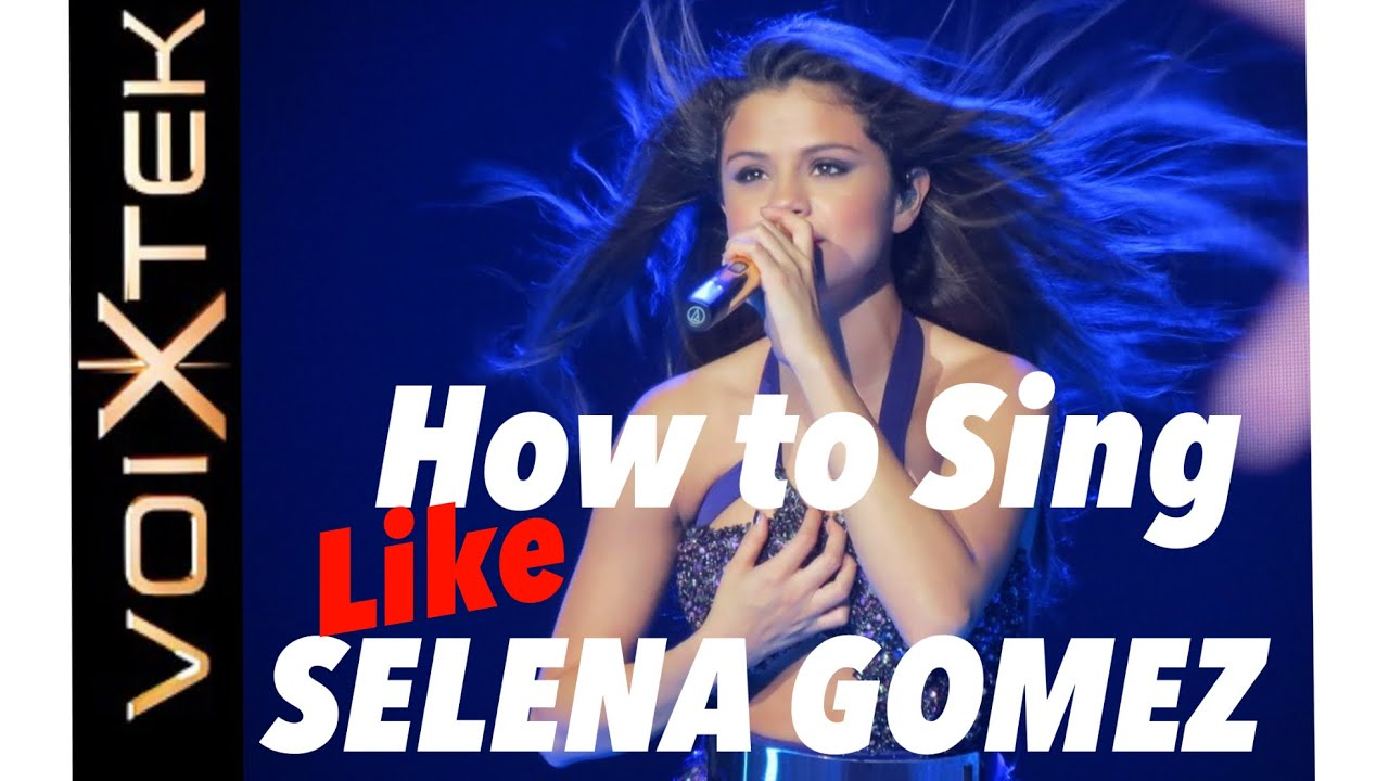 How to Sing like Selena Gomez - Training her Voice with Ron Anderson Voixtek (VR apps)