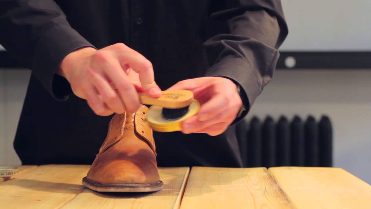 How To Polish Dress Shoes Youtube