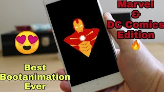 Best Bootanimation Ever For Any Android | (Marvel Edition) 2018