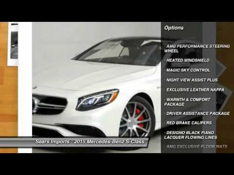 2015 mercedes benz s class s63 amg minnetonka minneapolis for Mercedes benz bloomington mn