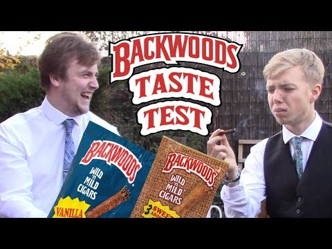 BACKWOODS CIGAR TASTE TEST (HONEST)