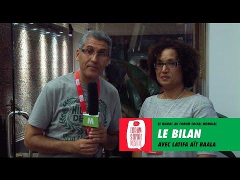Le Maroc au FSM Montréal 2016: Le bilan avec Latifa Aït-Baala